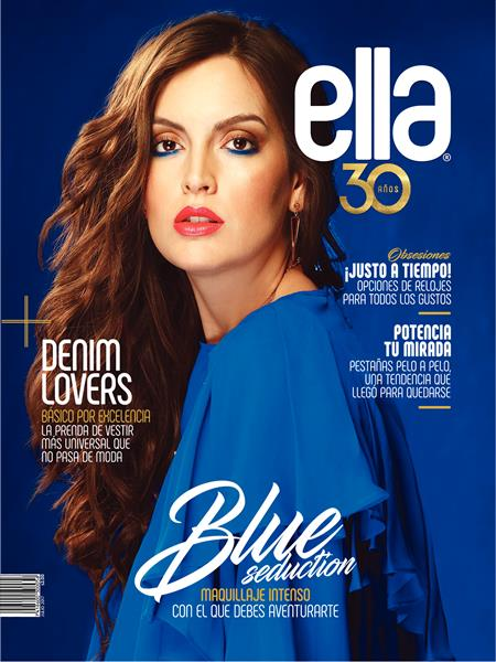 ELLA: BLUE SEDUCTION. MAQUILLAJE INTENSO CON EL QUE DEBES AVENTURARTE