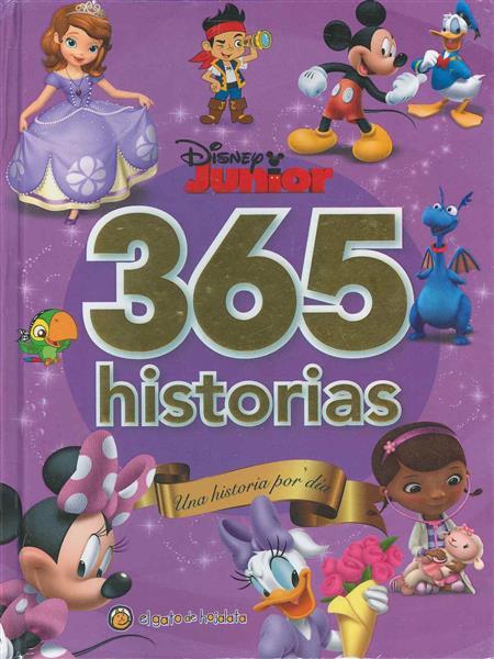 DISNEY JUNIOR 365 HITORIAS. Una historia por día.